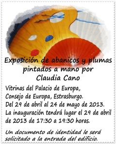 Exposición Claudia Cano