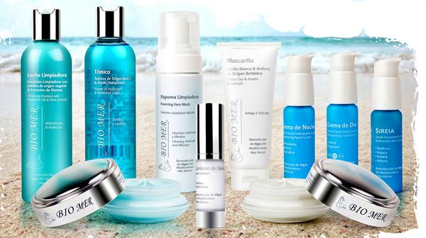 Linea Facial Bio Mer Cosmetics