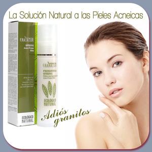 Crema facial para el tratamiento pieles acneicas, adiós a los granitos.
